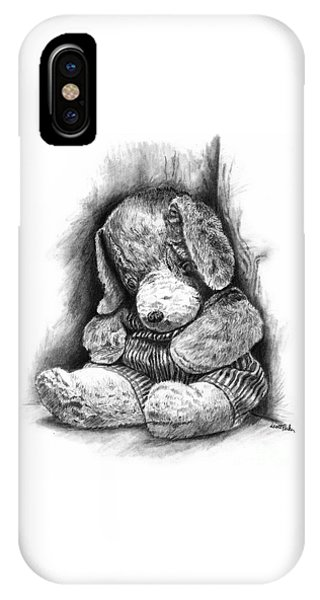 Antique Stuffed Animal IPhone Case