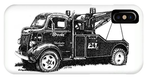 Antique Tow Truck IPhone Case