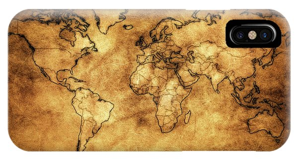 World map wallpaper iphone cases page 4 of 4 fine art america world map wallpaper iphone case antique world map by athena mckinzie gumiabroncs Choice Image