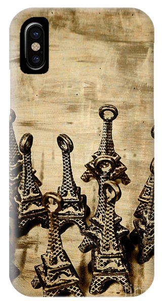 French iPhone X Case - Antiques Of France by Jorgo Photography - Wall Art Gallery