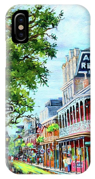 French Artist iPhone Case - Antoine's by Dianne Parks