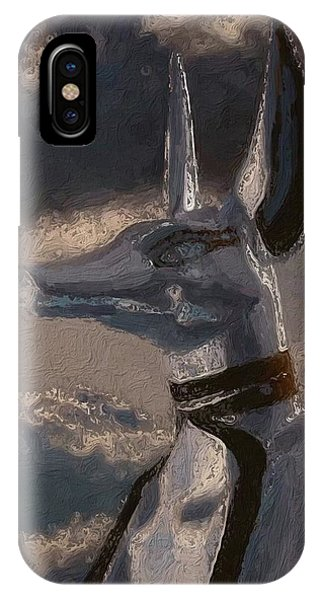 Anubis God Of Egypt By Mary Bassett IPhone Case