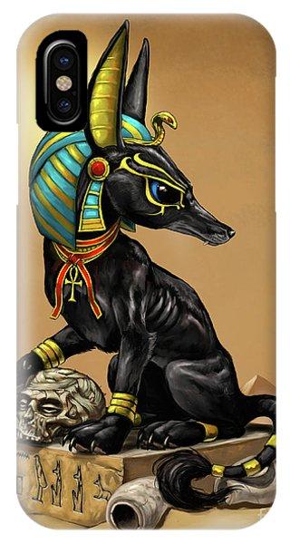 Anubis Egyptian God IPhone Case
