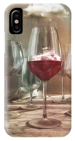 Any Port In A Storm IPhone Case
