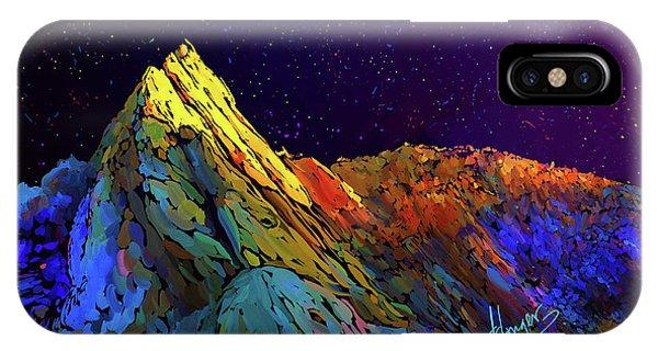 Anza Borrego Desert Peak IPhone Case