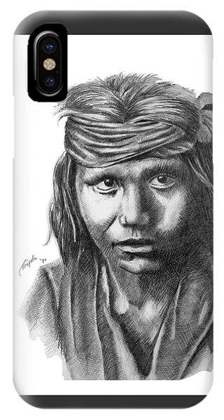 Apache Boy IPhone Case