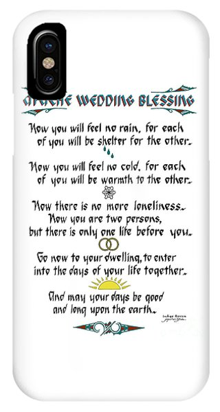 Apache Wedding Blessing IPhone Case