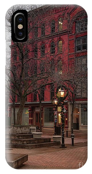 Apartment Building Phone Case by Debra Millet