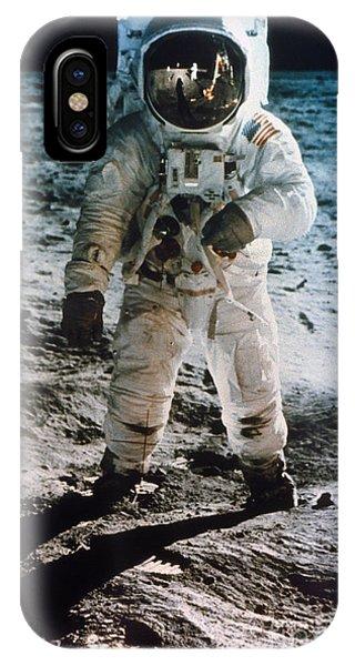 Apollo 11 Buzz Aldrin IPhone Case