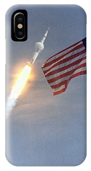 Apollo 11 Launch IPhone Case
