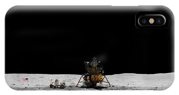 Apollo 16 Landing Site Panorama IPhone Case