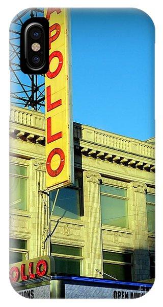 Apollo Theater iPhone Case - Apollo Vignette by Ed Weidman