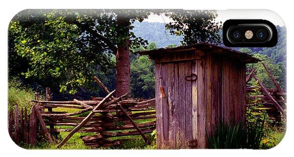 Appalachian Hill-ton IPhone Case