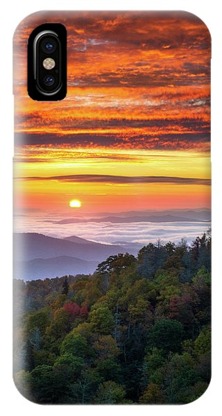 Appalachian Mountains iPhone Case - Appalachian Mountains Asheville North Carolina Blue Ridge Parkway Nc Scenic Landscape by Dave Allen