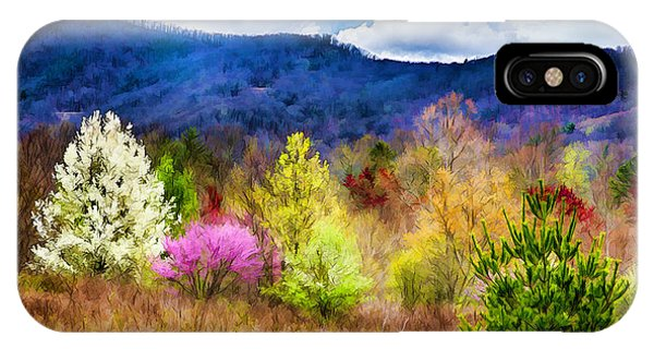 Appalachian Spring In The Holler IPhone Case