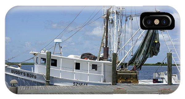 Appalachicola Shrimp Boat IPhone Case