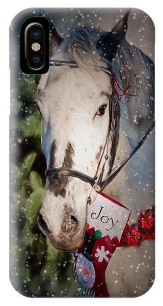 Appaloosa Christmas IPhone Case