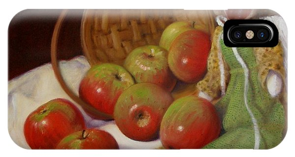 Apple Annie IPhone Case