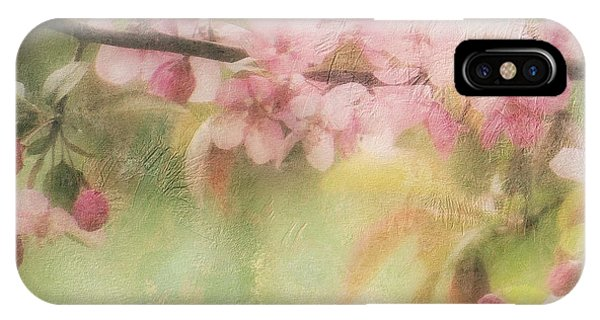 Apple Blossom Frost IPhone Case