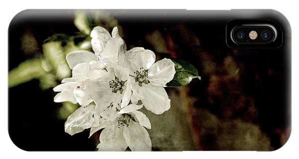 Apple Blossom Paper IPhone Case