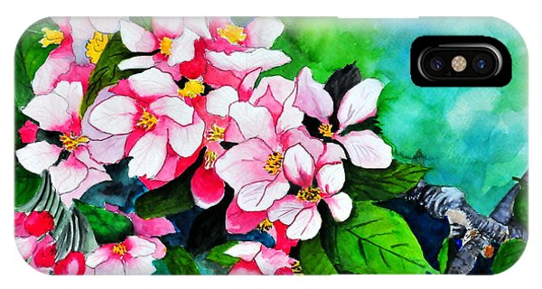 Apple Blossoms IPhone Case