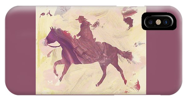 Apple Cowgirl IPhone Case