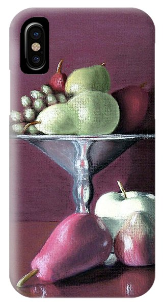 Apple  Pears And Grapes IPhone Case