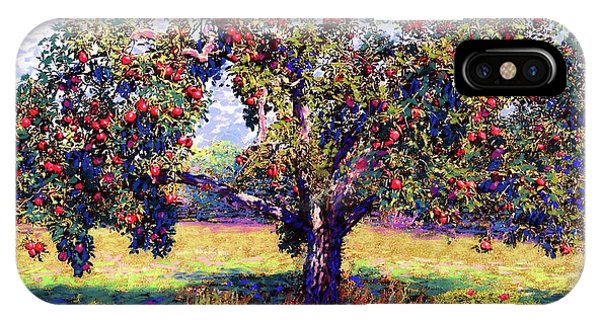 Missouri iPhone Case - Apple Tree Orchard by Jane Small