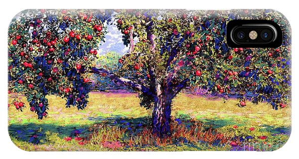 Summer Fruit iPhone Case - Apple Tree Orchard by Jane Small