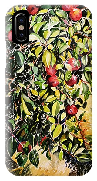 IPhone Case featuring the painting Apple Tree by Priti Lathia