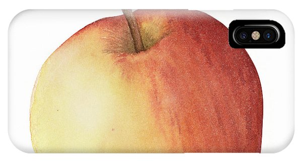 Apple Watercolor IPhone Case