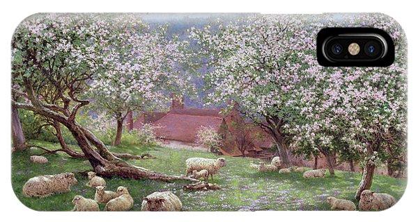 Agriculture iPhone Case - Appleblossom by William Biscombe Gardner