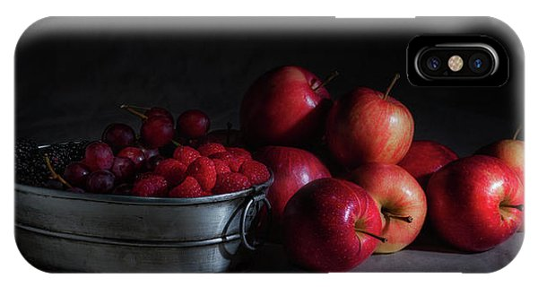 Apples And Berries Panoramic IPhone Case