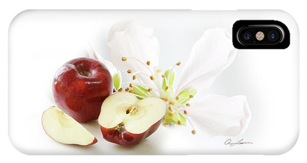 Apples And Blossom IPhone Case