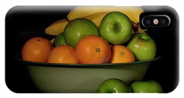 IPhone Case featuring the photograph Apples, Oranges And Bananas 1 by Angie Tirado