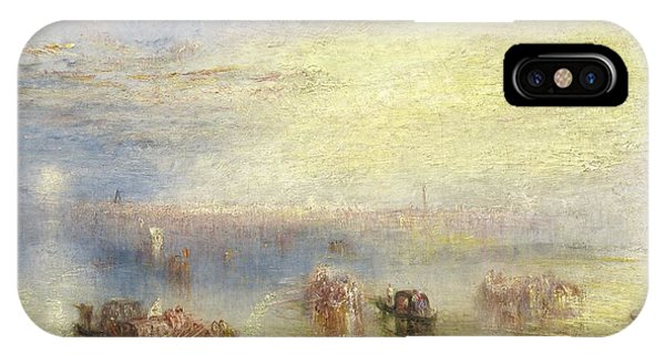 iPhone Case - Approach To Venice by Joseph Mallord William Turner