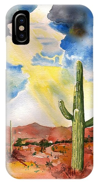 Approaching Monsoon IPhone Case