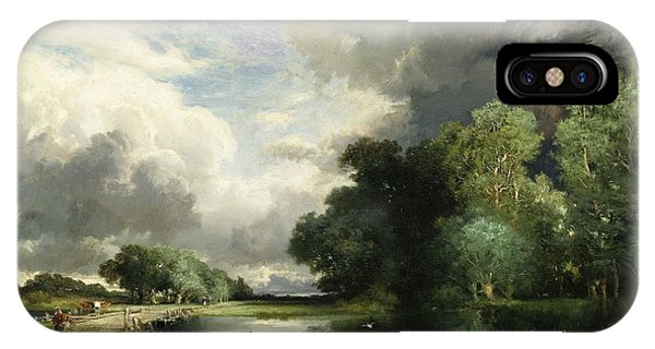 Approaching Storm Clouds IPhone Case