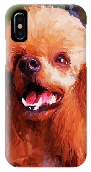 Apricot Poodle IPhone Case