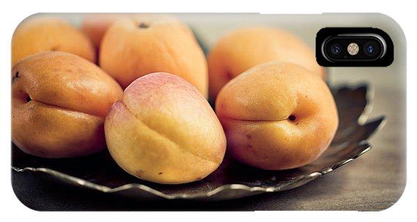 Fresh iPhone Case - Apricots by Nailia Schwarz