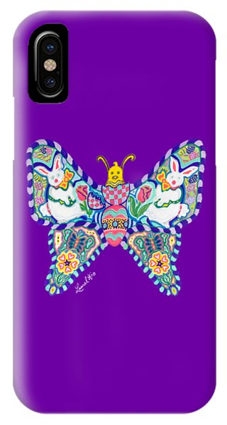 April Butterfly IPhone Case