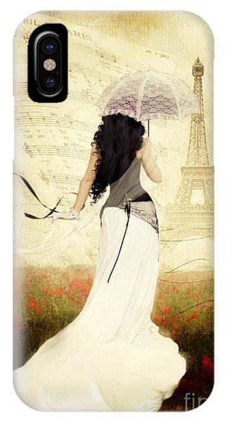 April In Paris IPhone Case
