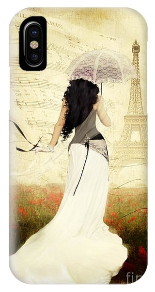 Poppies iPhone Case - April In Paris by Shanina Conway