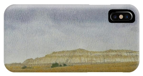 April In The Badlands IPhone Case