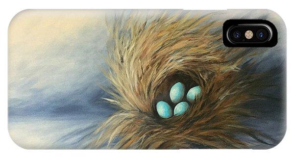 April Nest IPhone Case
