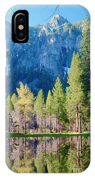 April Reflection IPhone Case