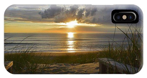 April Sunrise In Nags Head IPhone Case