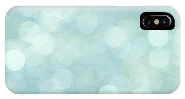Aqua Abstract IPhone Case