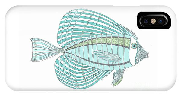 Aqua Fish IPhone Case