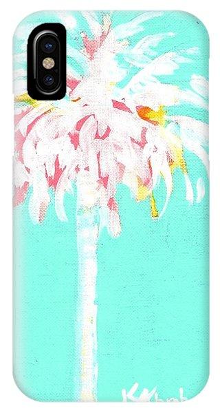 Aqua Marine Palm IPhone Case